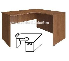 Стол угловой Имаго совместим с тумбой ТП-4.1