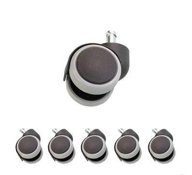 Комплект колес для ламината/паркета, диаметр штока 11мм