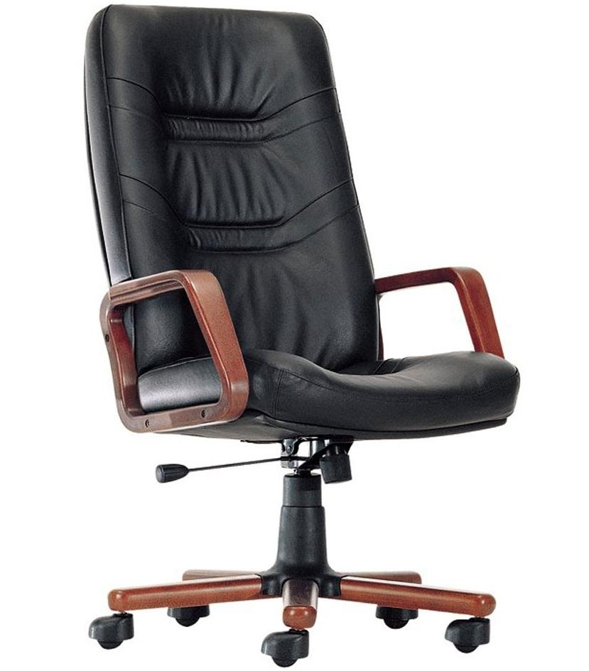 Кресло руководителя Министр Экстра кожаное