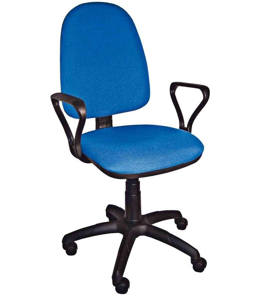 офисное кресло престиж синий
