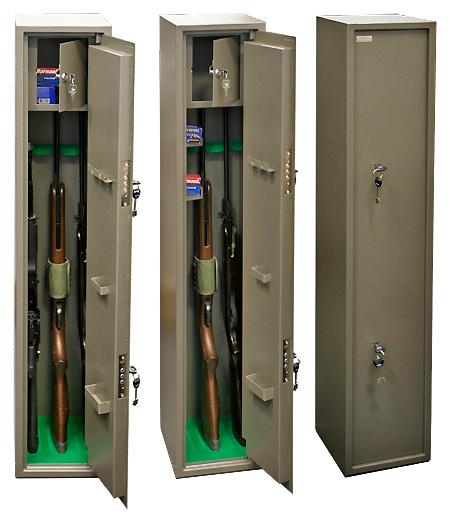 Сейф оружейный КО-035Т (1250х250х280)