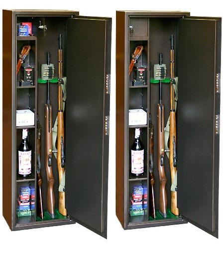 Сейф оружейный КО-038Т (1400х430х280)