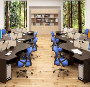 Мебель для персонала Simple ДСП 16мм, Белоруссия