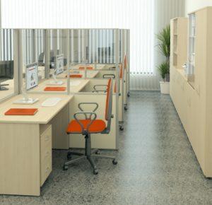 Мебель для персонала Eco ДСП 16мм, Россия