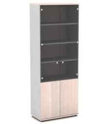 Шкаф со стеклом для документов V-634 820х440х2195