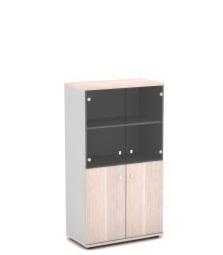 Шкаф со стеклом для документов V-664 820х440х1490
