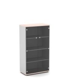 Шкаф со стеклом для документов V-667 820х440х1490